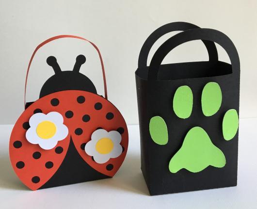 Lembrancinhas Ladybug e Catnoir sacolinha
