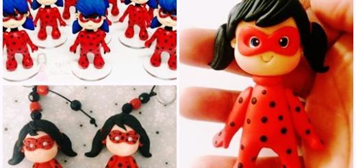 Ideias de Lembrancinhas Ladybug