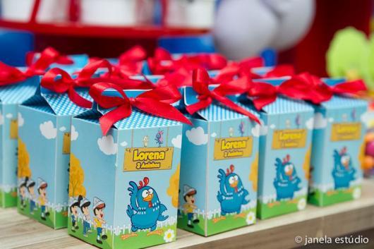 Lembrancinhas Personalizadas Galinha Pintadinha: caixinha de leite