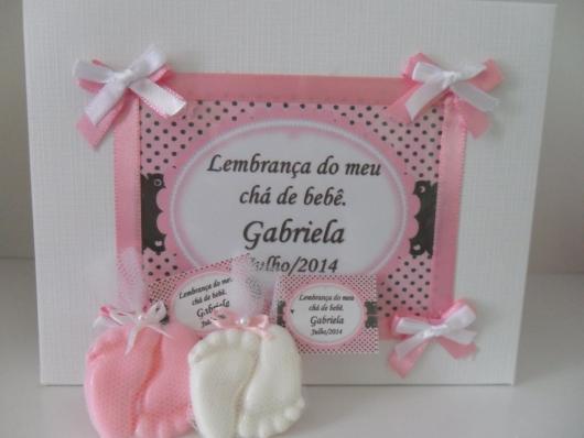 Lembrancinhas Personalizadas para Chá de Bebê de menina