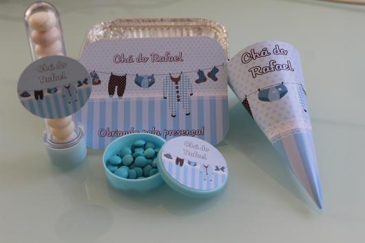 Lembrancinhas Personalizadas para Chá de Bebê de menino
