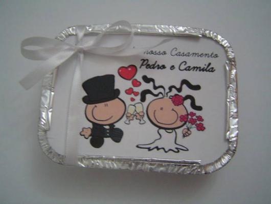 Lembrancinhas Personalizadas para Casamento: marmitinha