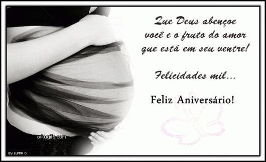 Mensagem de Aniversário para Amiga grávida