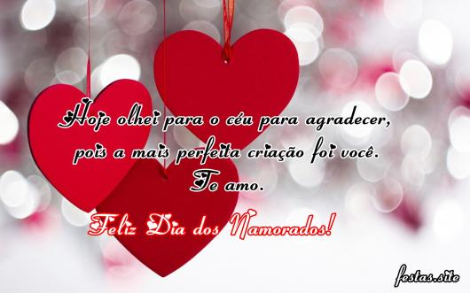 Mensagem Dia dos Namorados evangélica