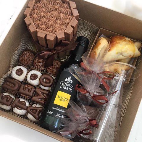 bolo na caixa