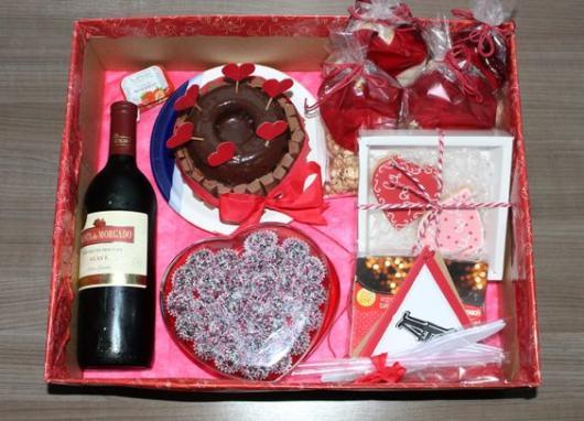 caixa romântica
