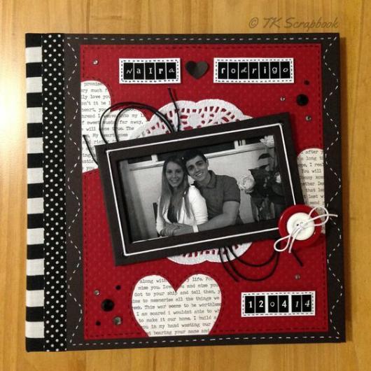 scrapbook casal