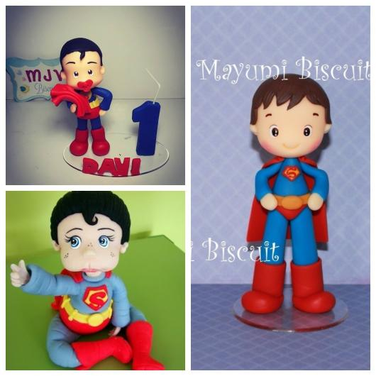 topo de bolo Super-Homem