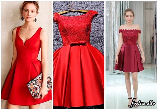 e789fae5e3a9 Vestido de Formatura Vermelho – 40 Modelos Incríveis & Dicas de Looks!