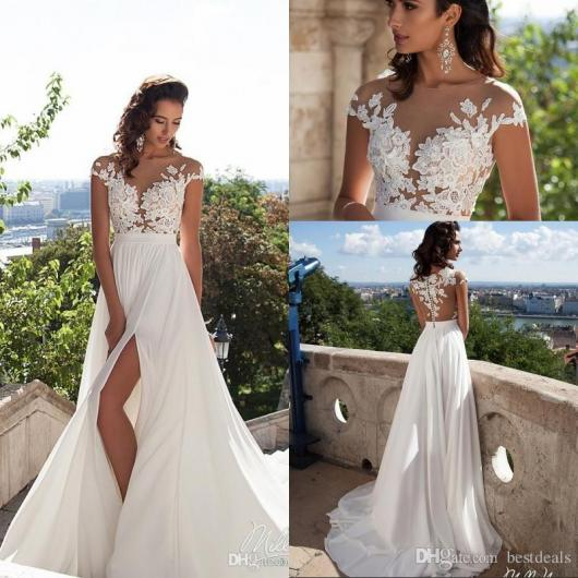Romantic Weddings Simple: Vestido De Noiva Simples E Barato: 65 Modelos