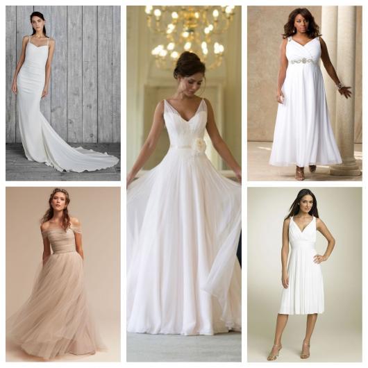 d8acf9902 Vestido de Noiva Simples e Barato: 65 Modelos Deslumbrantes & Dicas ...