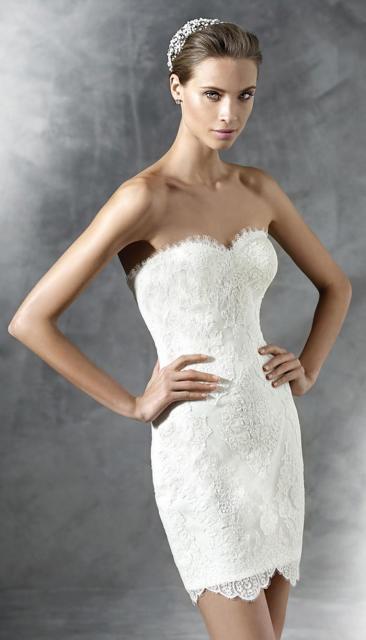 Vestido de Noiva Tomara que Caia com tiara