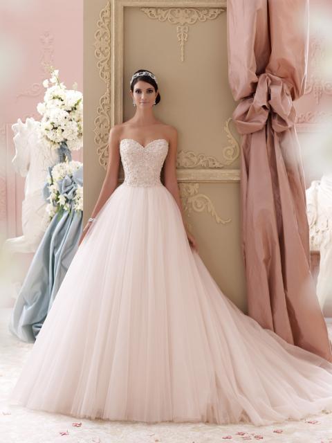 Vestido de Noiva Tomara que Caia com rodado