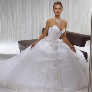 Vestido de Noiva Tomara que Caia com maxcolar