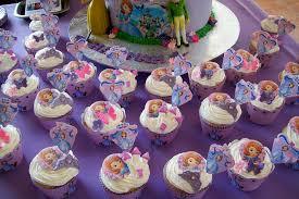 Cupcake Princesa Sofia decorado