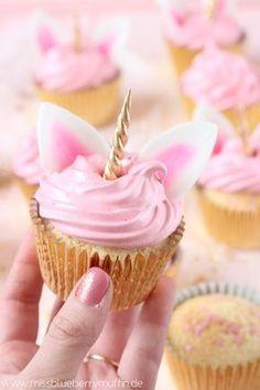 Cupcake de unicórnio.