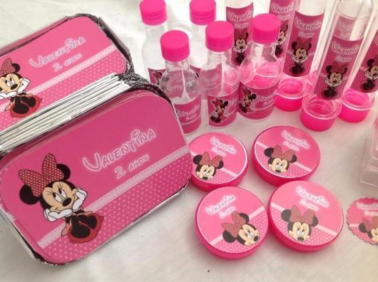 kit festa minnie rosa pink