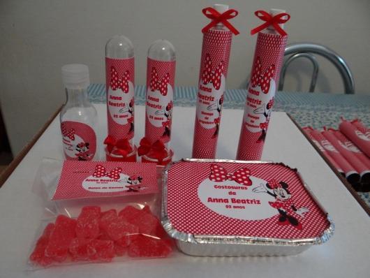 kit festa minnie com tubete personalizado