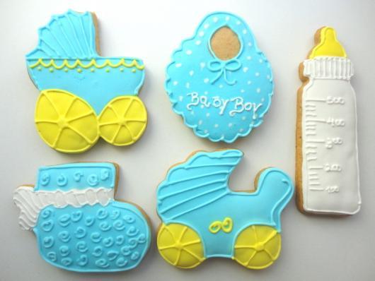 Biscoitos Decorados infantil chá de bebê