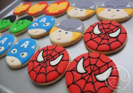Biscoitos Decorados infantil Homem-Aranha