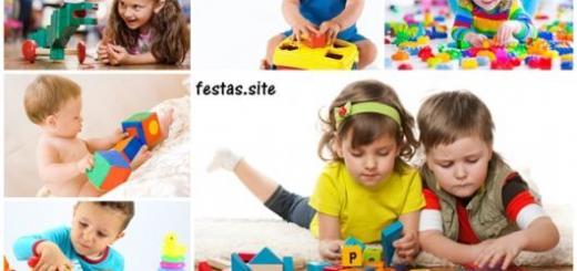 dicas e ideias de brinquedos