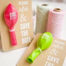 convites de noivado criativos balão de festas