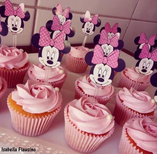 cupcake chantilly rosa