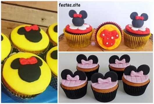 ideias cupcakes decorados com pasta americana