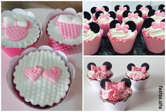 ideias cupcake rosa