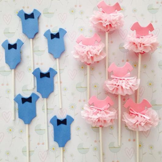 Cupcakes Decorados com topper bailarina