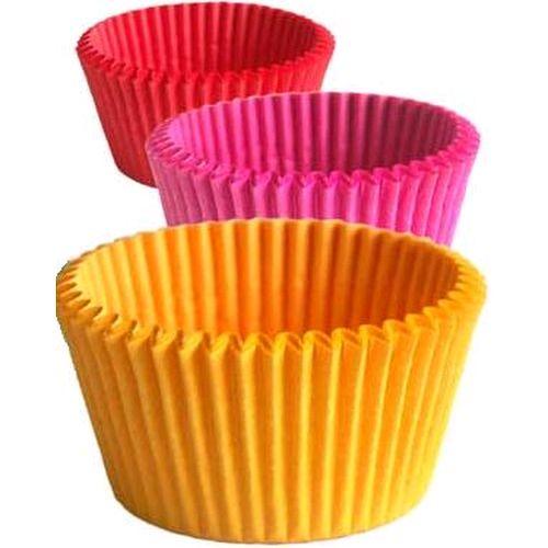 Cupcakes Decorados forminhas coloridas