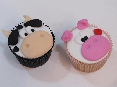 Cupcakes Decorados para Festa Fazendinha