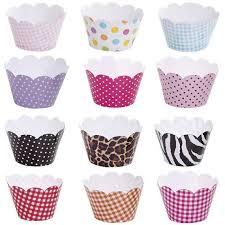 Cupcakes Decorados com wrapper colorido