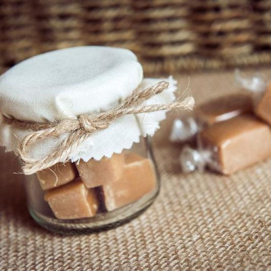 Doces para Casamento rústico doce de leite no potinho