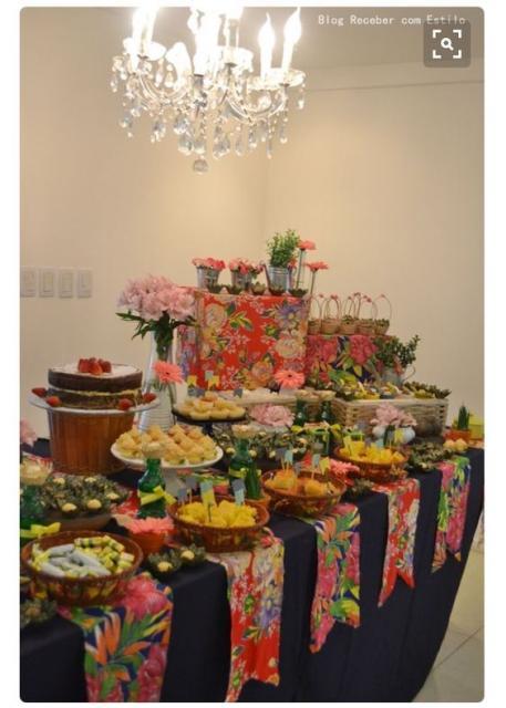 mesa festa junina