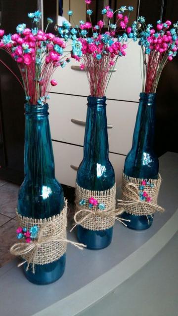 decoração com flores simples