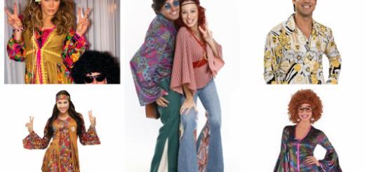 ideias de fantasia anos 70