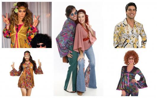 16300250f1f93 Fantasia Anos 70  Dicas Incríveis   60 Modelos Masculinos e Femininos