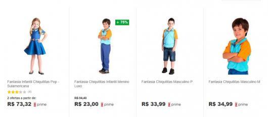 comprar fantasia Chiquititas