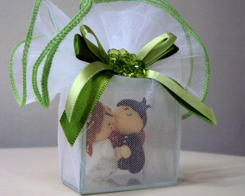 fotos de lembrancinhas de casamento de biscuit