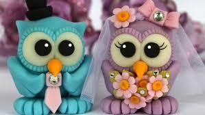 lembrancinhas de casamento de biscuit corujinha