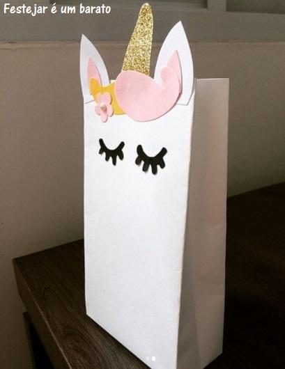 sacola decorada