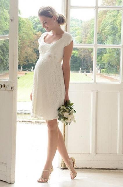 Vestido De Noiva Para Grávidas Mais De 30 Modelos Com Fotos