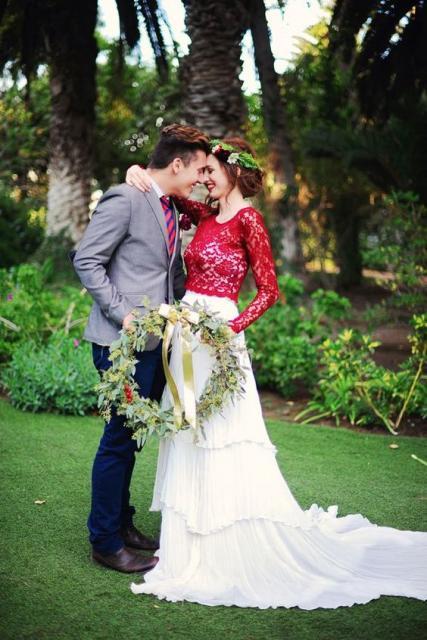 vestido noiva diferente