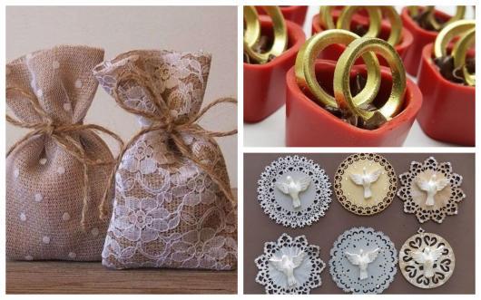 lembranças simples bodas de ouro