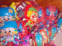 Balões Metalizados do Homem-Aranha