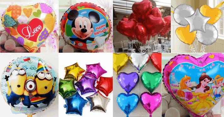 Balões Metalizados dos Minions