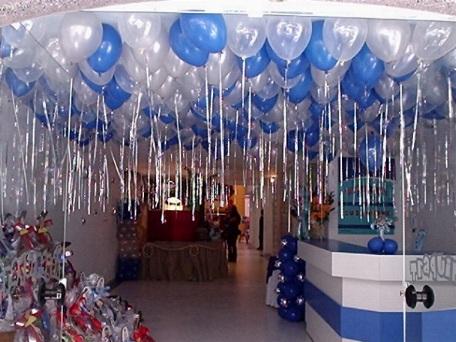 Balões Metalizados decoração de festa masculina