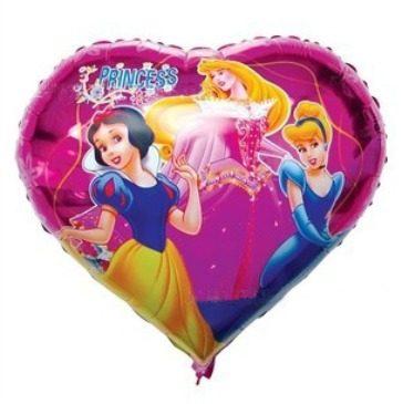 Balões Metalizados das princesas