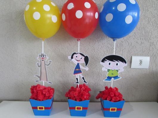 Balões de Festa personalizados com bolinhas